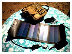 6.5W Folding Solar charger MMP4