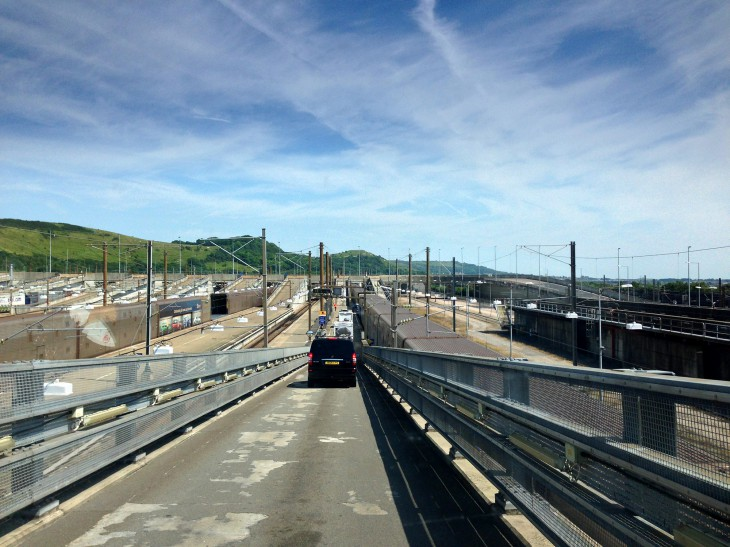 Channel Tunnel for a Normandy and Brittany trip