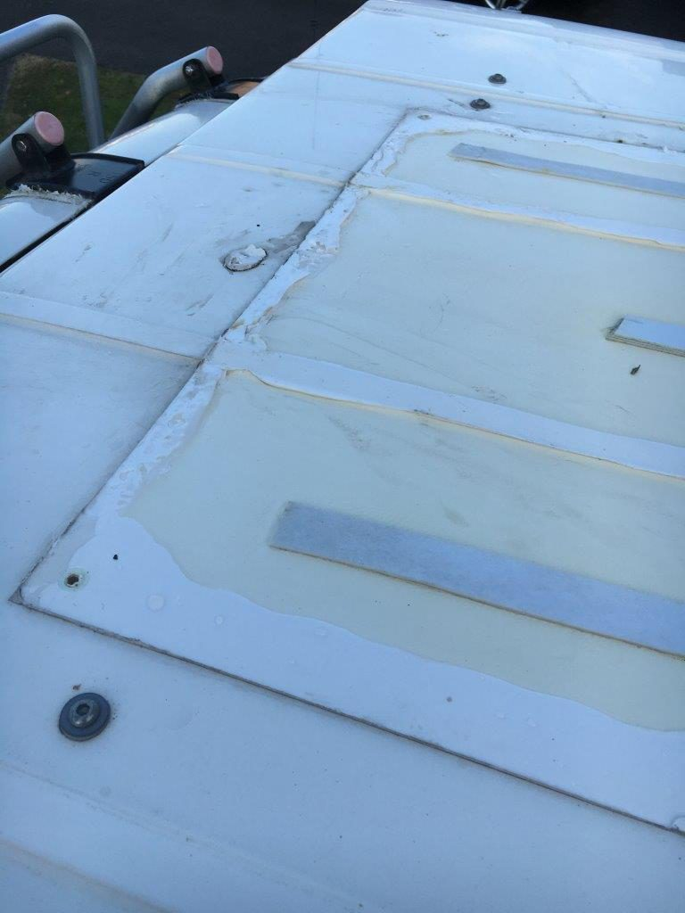 Campervan Solar Panel Installation Volkscamper Wiring Diagram Uk If Youre Considering A Permanent And Are Worried About Removal You May Like To Read Using Portable Folding