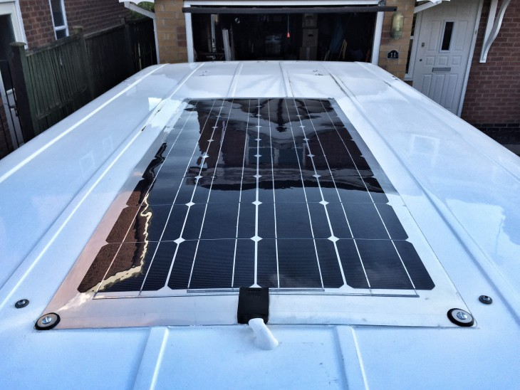 The Finished Solar Panel
