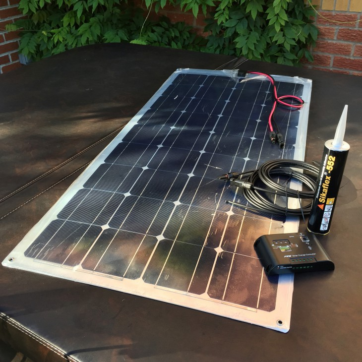 The Solar Kit Supplied
