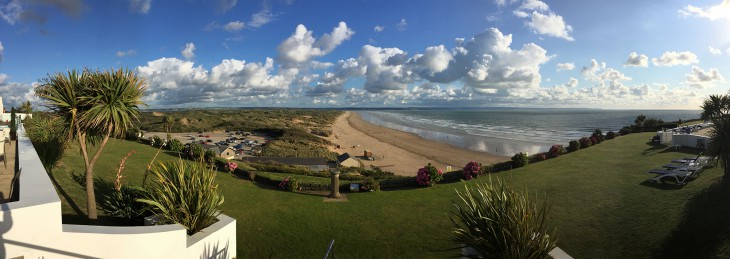 Saunton Sands from the Hotel