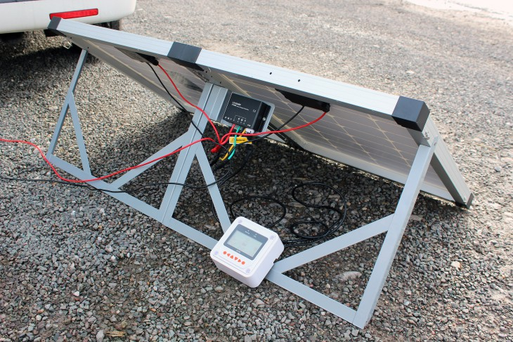Biard Folding Solar Panel with MT-50