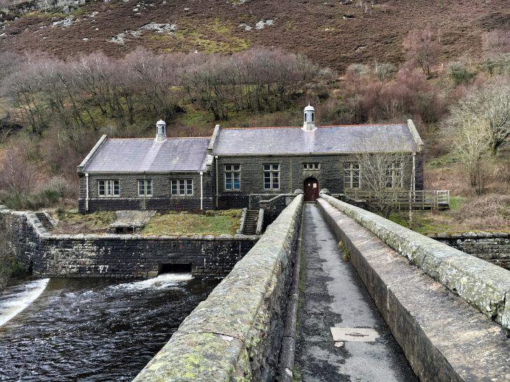 Caban Coch pumping station - Rhayader - Elan Valley