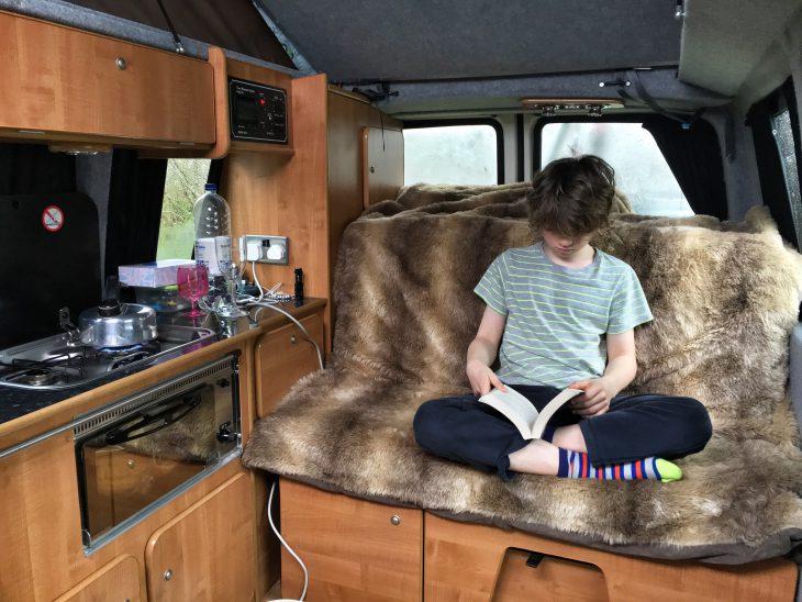 Camping at Coed-Y-Llwyn Caravan Club Site