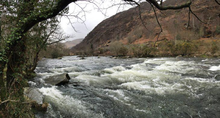 Fast Flowing River near Beddgelert