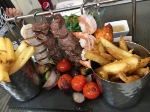 Food at Porters Cove in Abersoch
