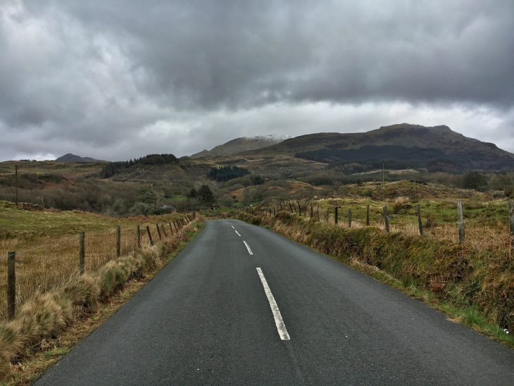 Roads of Beddgelert