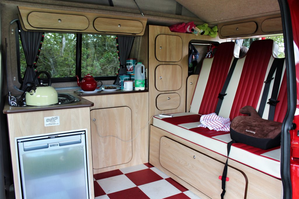 new campervan interior