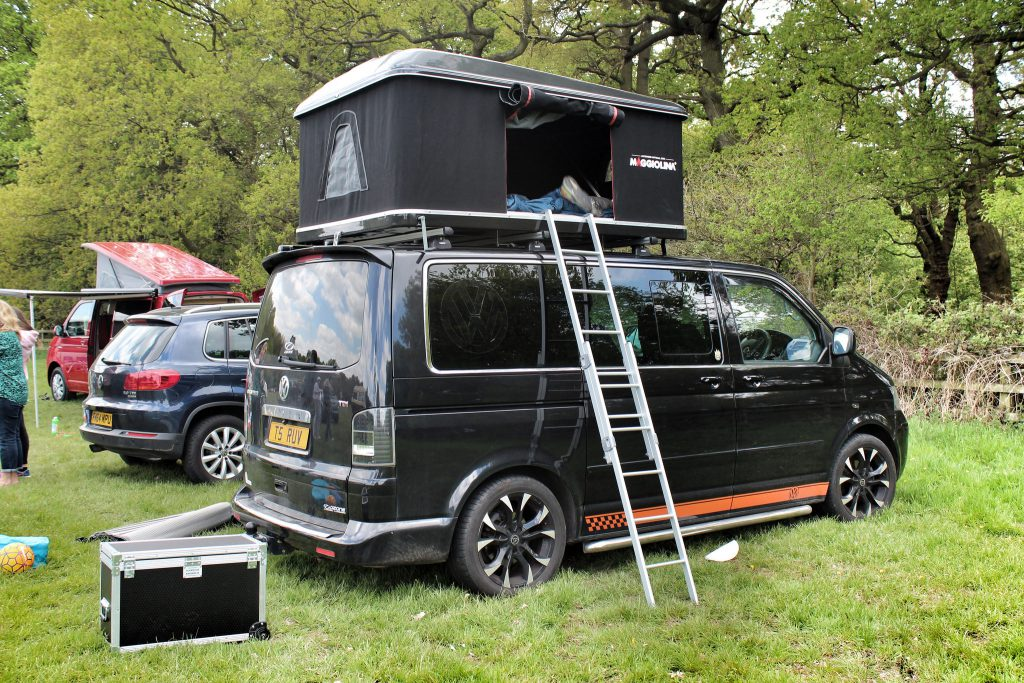 vw-caravelle-with-roof-rack-tent