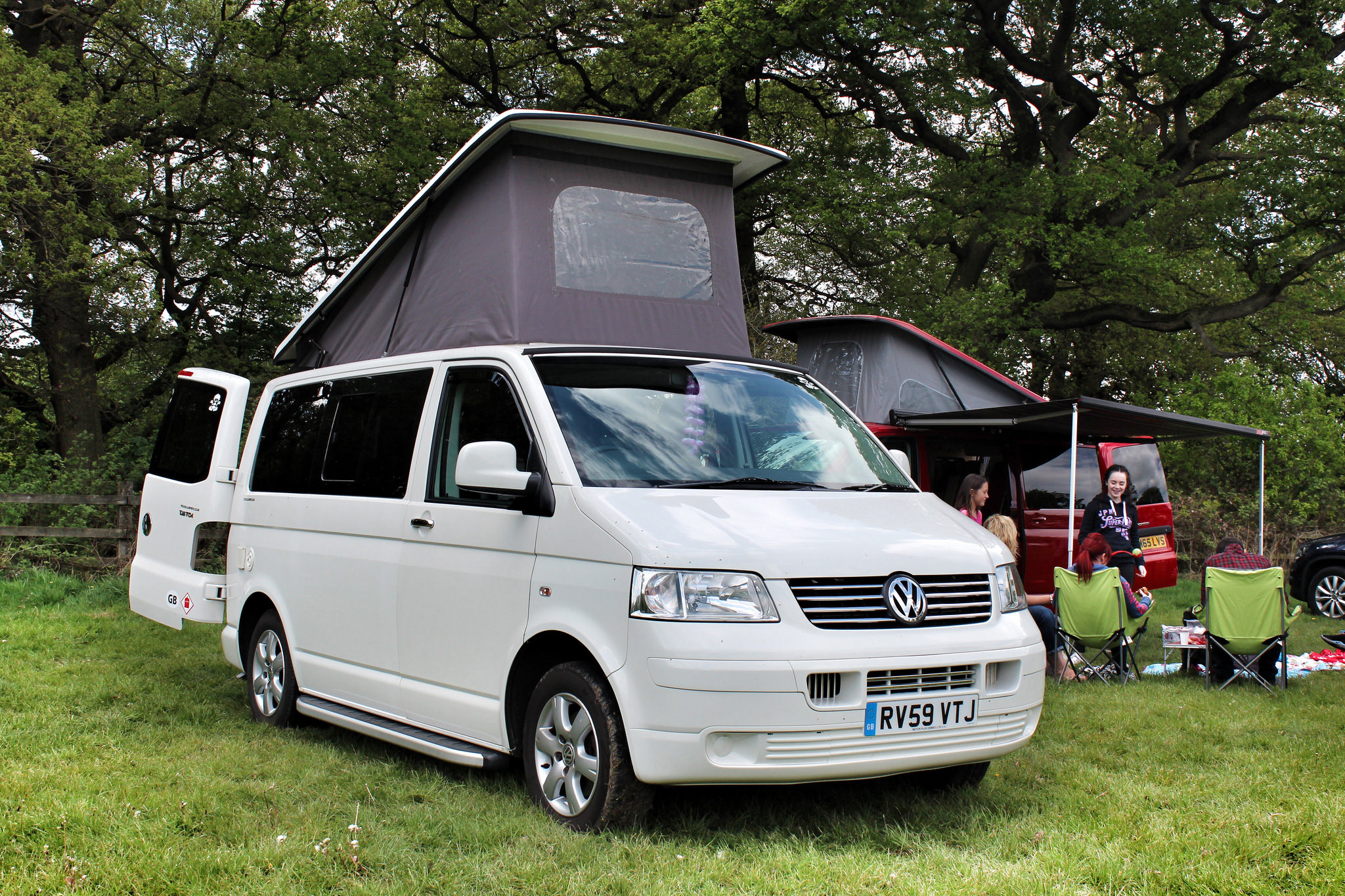 Vw T5 Campervan With Pop Top Roof
