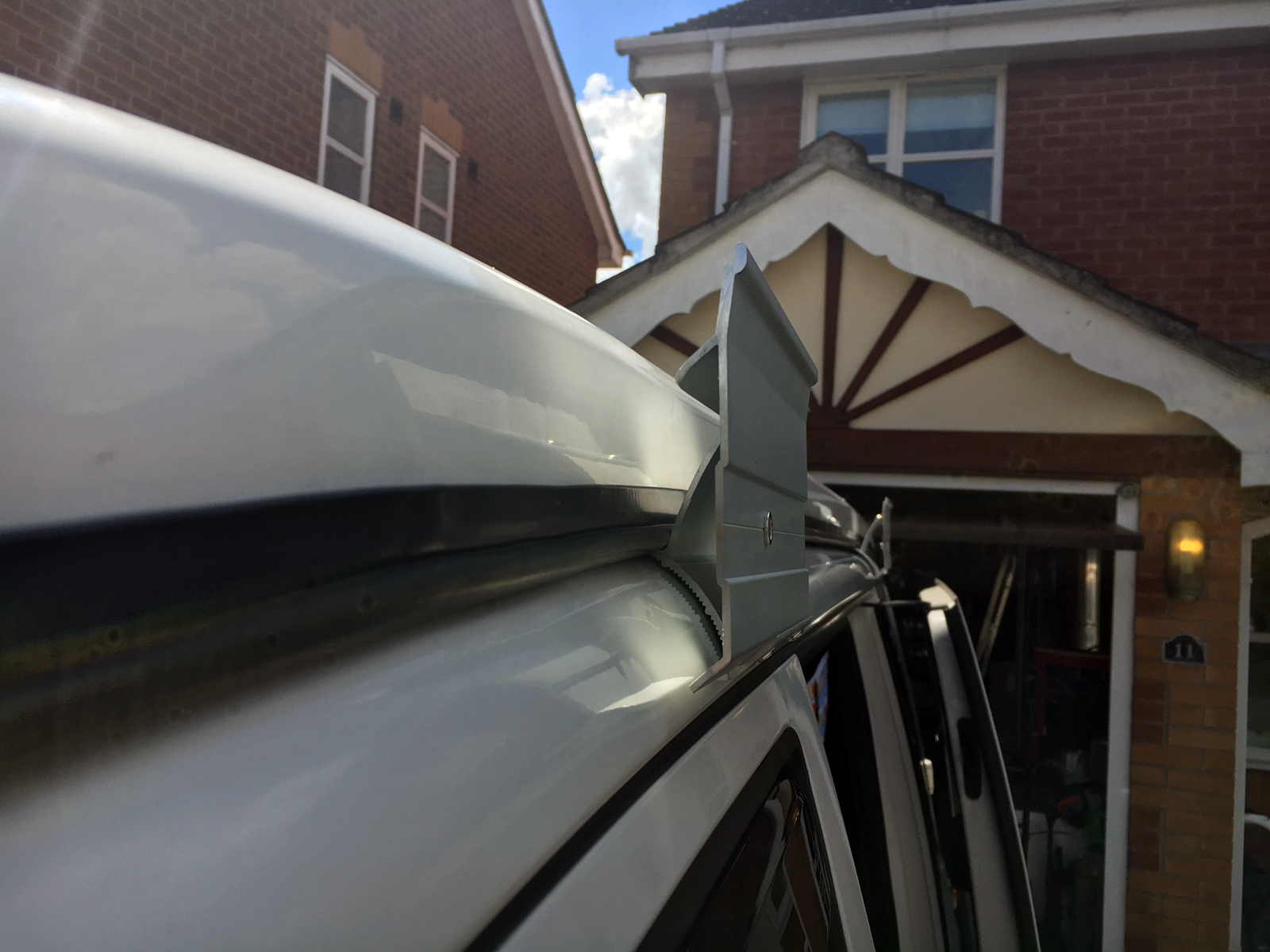 Fitting A Fiamma F45s Awning To T5 Transporter Volkscamper