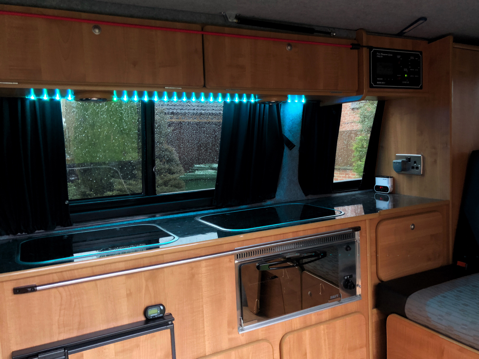 Cheap Led Lighting For The Campervan Volkscamper Wiring Lights To Leisure Battery Strip Is Actually Designed Connect Usb Port On A Tv Or Computer Monitor Provide Backlight Ive Already Installed One