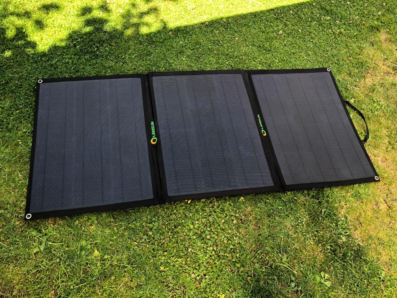 Campervan 12v Folding Solar Panel Volkscamper